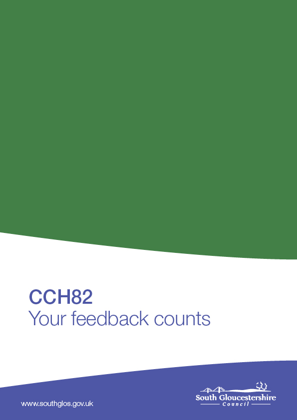 CCH82 - Your feedback counts