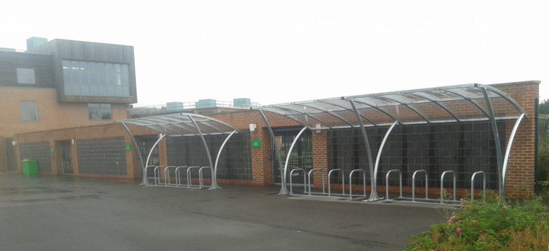 Photo of New cycle parking at Abbeywood School