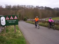 Photo of rural cycle route