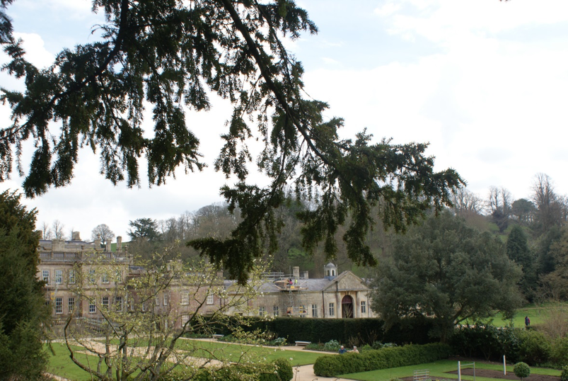 Figure: Dyrham House and grounds