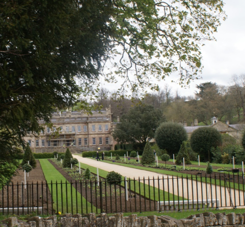 Figure 2: West Front of Dyrham House