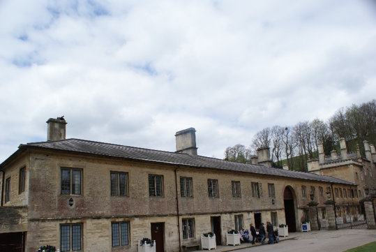 Figure 3: Part of the stable block