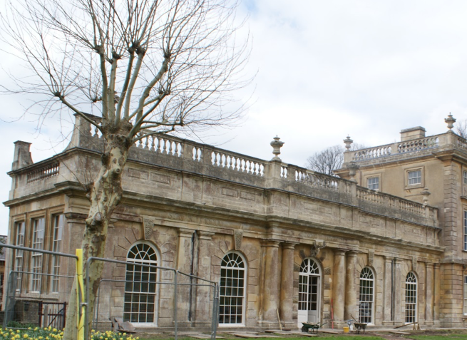 Figure 4: The Orangery to the East of the main