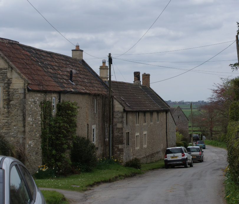 Narrow lanes through Dyrham