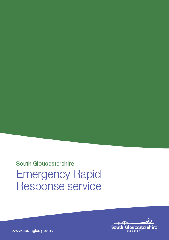 South Gloucestershire emergency rapid response service