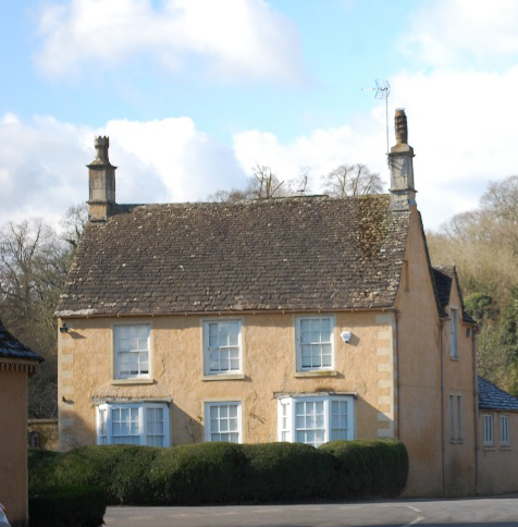 Photo showing The Old Vicarage