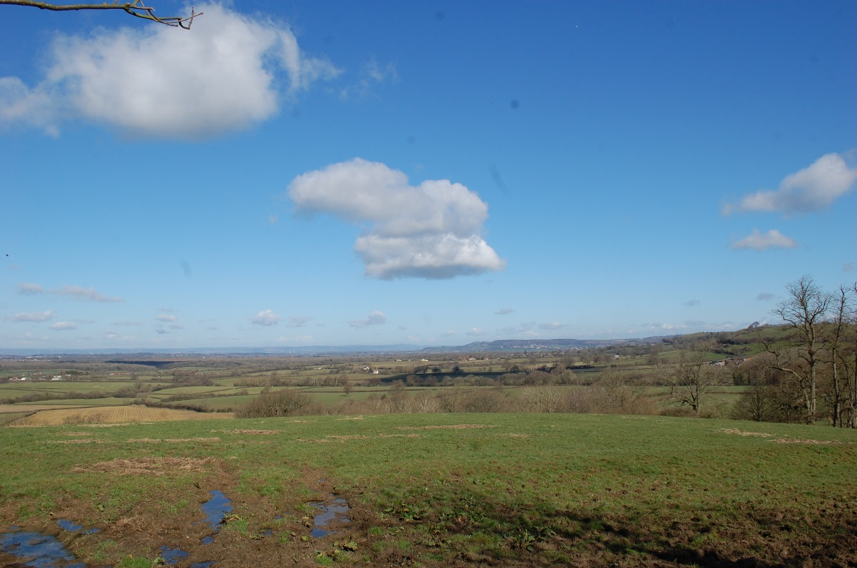 Figure 2: Views South of Horton from Horton Road