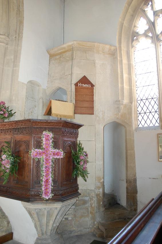 Figure 4: Jacobean Pulpit