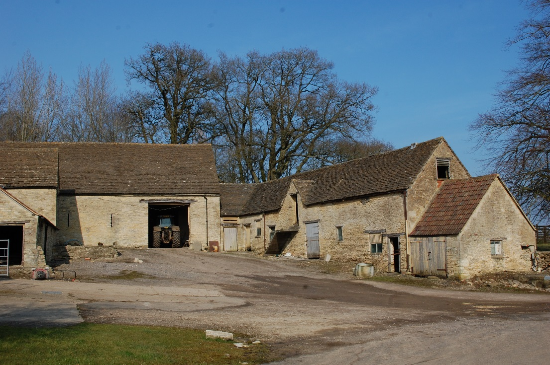 Figure 8: Agricultural buildings in Little Badminton