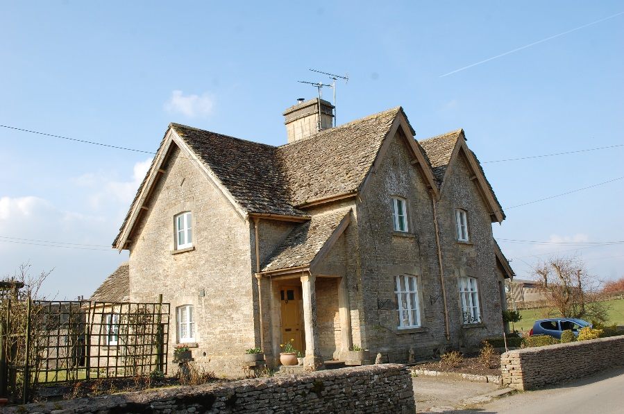 Figure 15: Pair of stone cottages