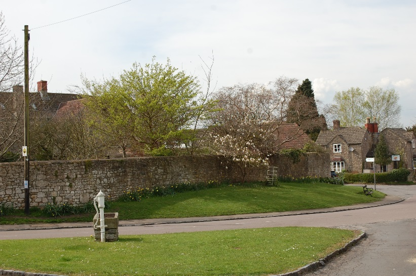 Figure 10: The village green and pump