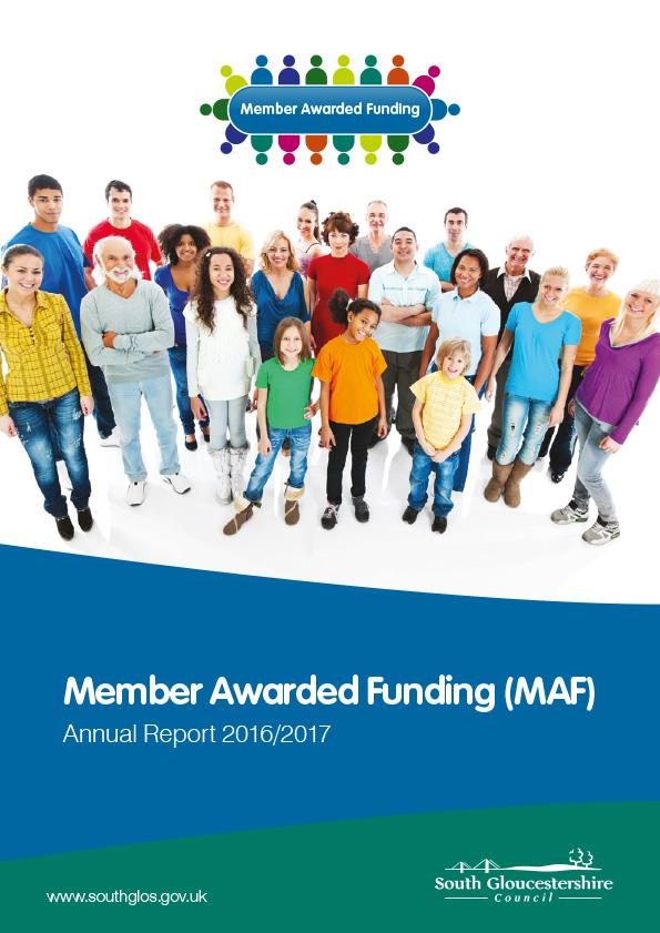 Member Awarded Funding (MAF) Annual Report 2016/17