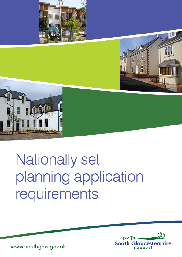 Nationally Set Planning Application Requirements
