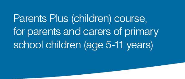 Parents Plus (children) course