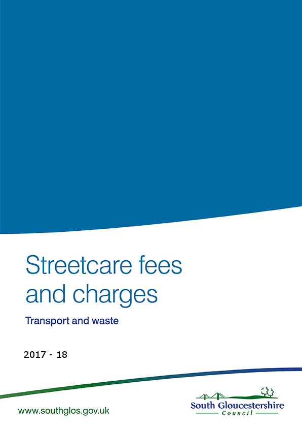 Streetcare fees and charges