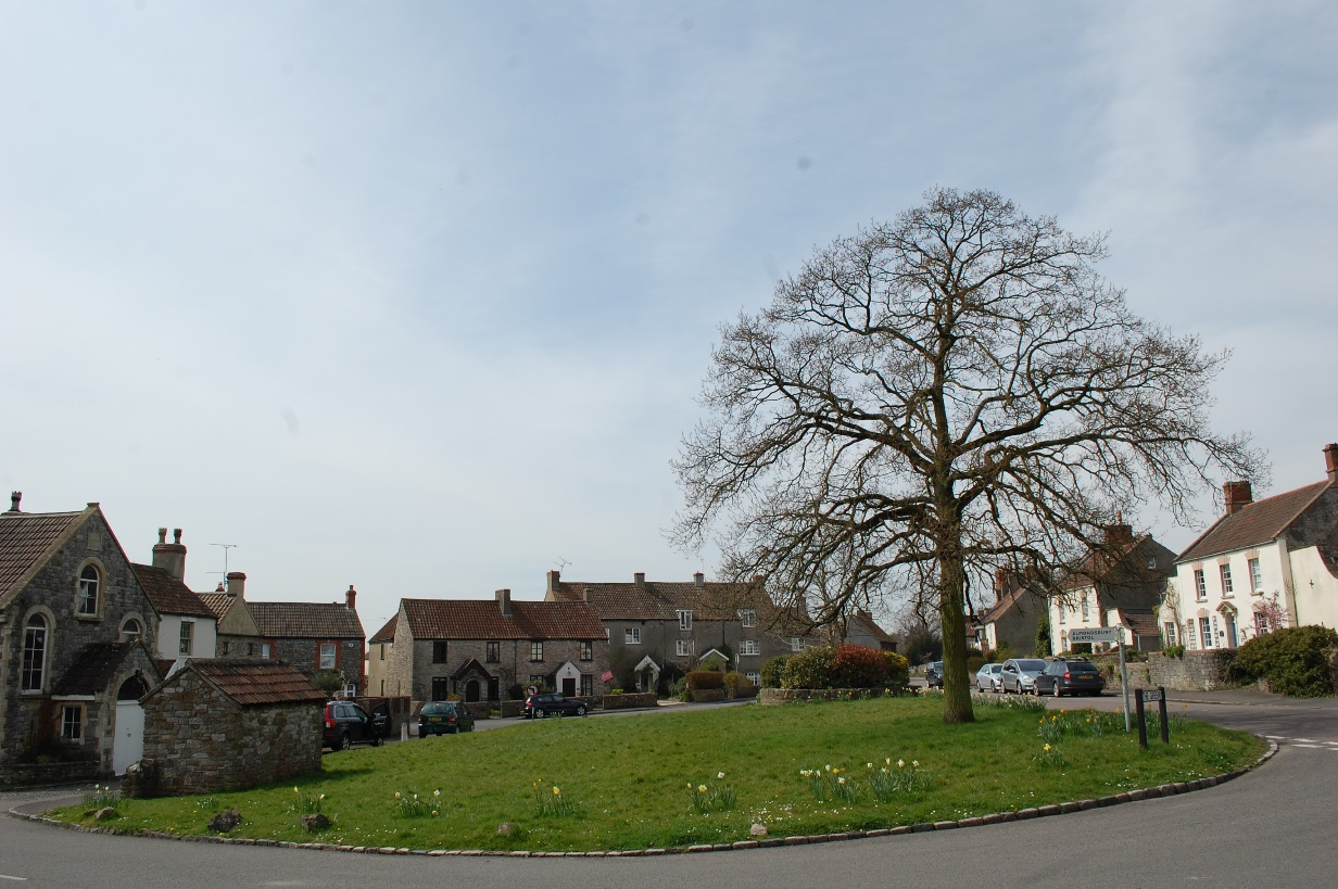 Figures 2: Tockington Green and surrounding buildings