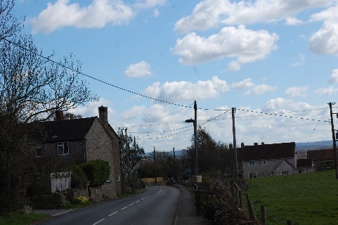 Figure 16: Views looking south towards malting buildings.