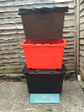 image showing Recycling container trolley
