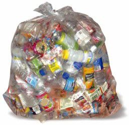 image showing Clear plastic bags