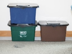 image showing Recycling boxes