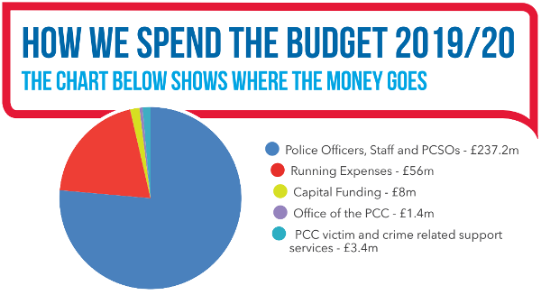 How we spend the budget 2019-20 ASP