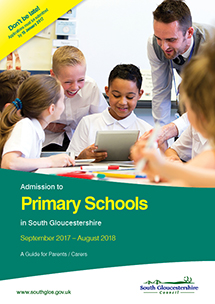 Admission to primary schools in South Gloucestershire